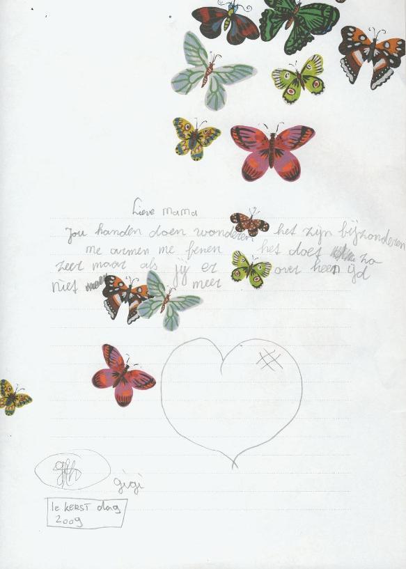 gedichtje Gigi klein