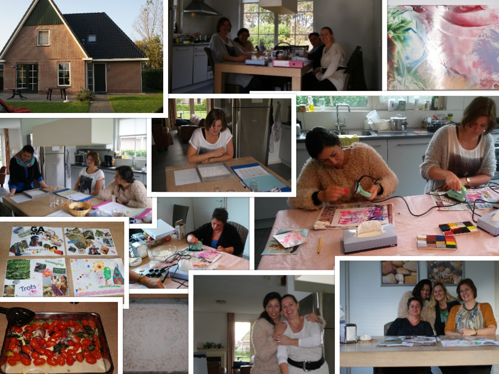 collage-1e groep